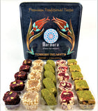 Premium Super Deluxe Turkish Delight Tin Box Dessert 500 gram