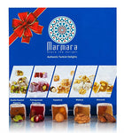 Turkish Delights with Traditional Mix Nuts Variety Assorted Nuts 1 Lb - 450 G