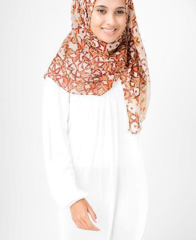 "Bone Brown Hijab-HIJABS-Simplicity-Regular 27""x70""-MeHijabi.com"