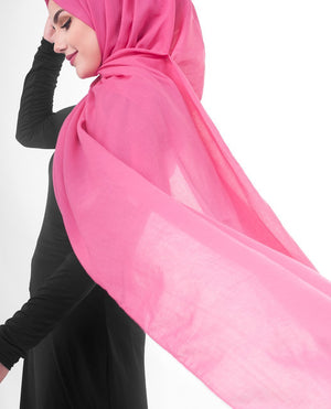 "Honeysuckle Cotton Voile Hijab-HIJABS-InEssence-Regular 27""x70""-MeHijabi.com"
