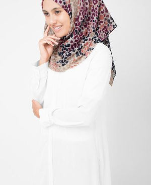 "Moonlight Beige Hijab-HIJABS-Urban Studio-Regular 27""x70""-MeHijabi.com"