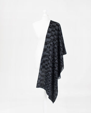 "Phantom and Ash Viscose Hijab-HIJABS-InEssence-Regular 27""x70""-MeHijabi.com"