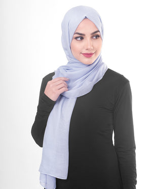 "Purple Heather Viscose Woven Hijab-HIJABS-InEssence-Regular 27""x70""-MeHijabi.com"
