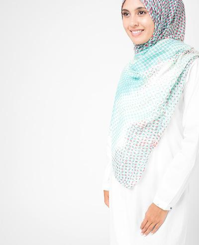 "Sprout Green Hijab-HIJABS-Route 01-Regular 27""x70""-MeHijabi.com"