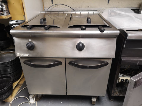 Mareno Double Tank Gas Fryer