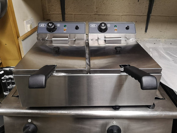 Table Top Twin Tank Electric Fryer (10L)
