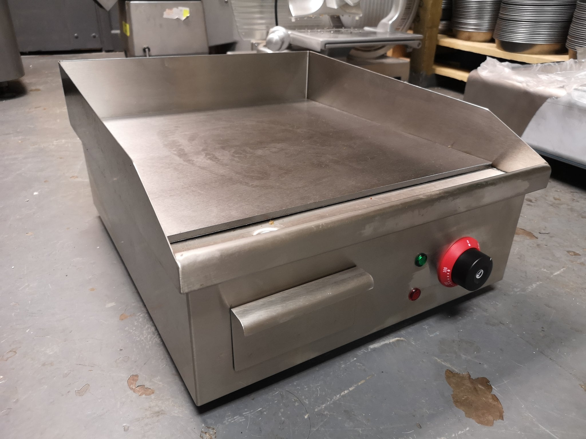 Electric Griddle 50cm Stainless Steel