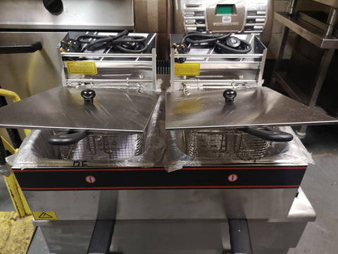 Table Top Double Tank Fryer