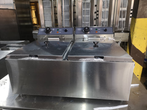 17L Electric Double Fryer