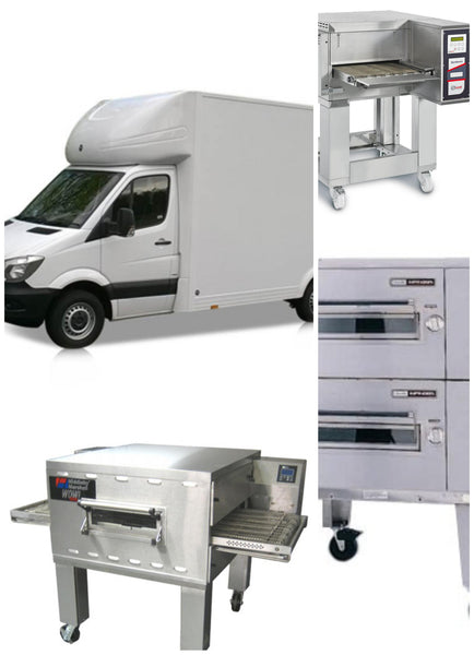 Pizza Oven Pick-up & Drop-off service