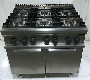 ELECTROLUX 6 Burner Commercial Gas