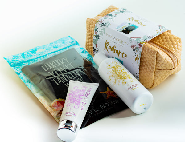 Radiance Golden 3pc Gift Bag