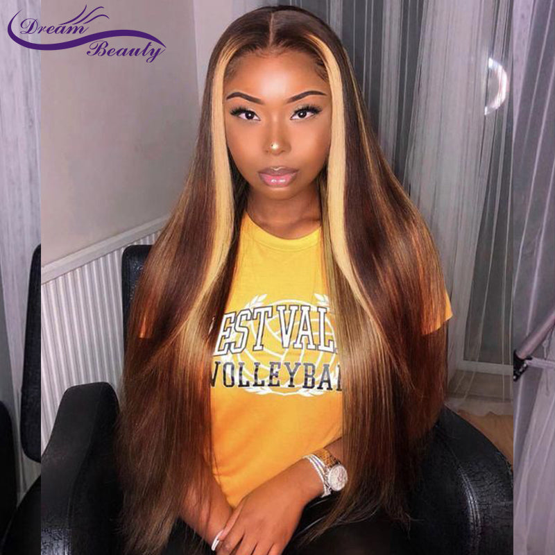 Blonde Lace Front Wigs Brazilian (5-7 days)