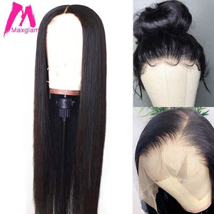 Lace Front Human Hair Wigs (US 5-7 days)