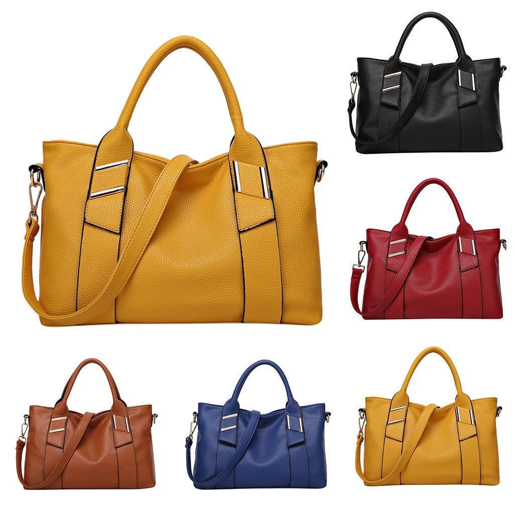 Leather Shoulder Bag Totes