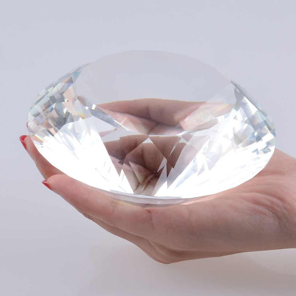 Crystal Diamond Paper Paperweight