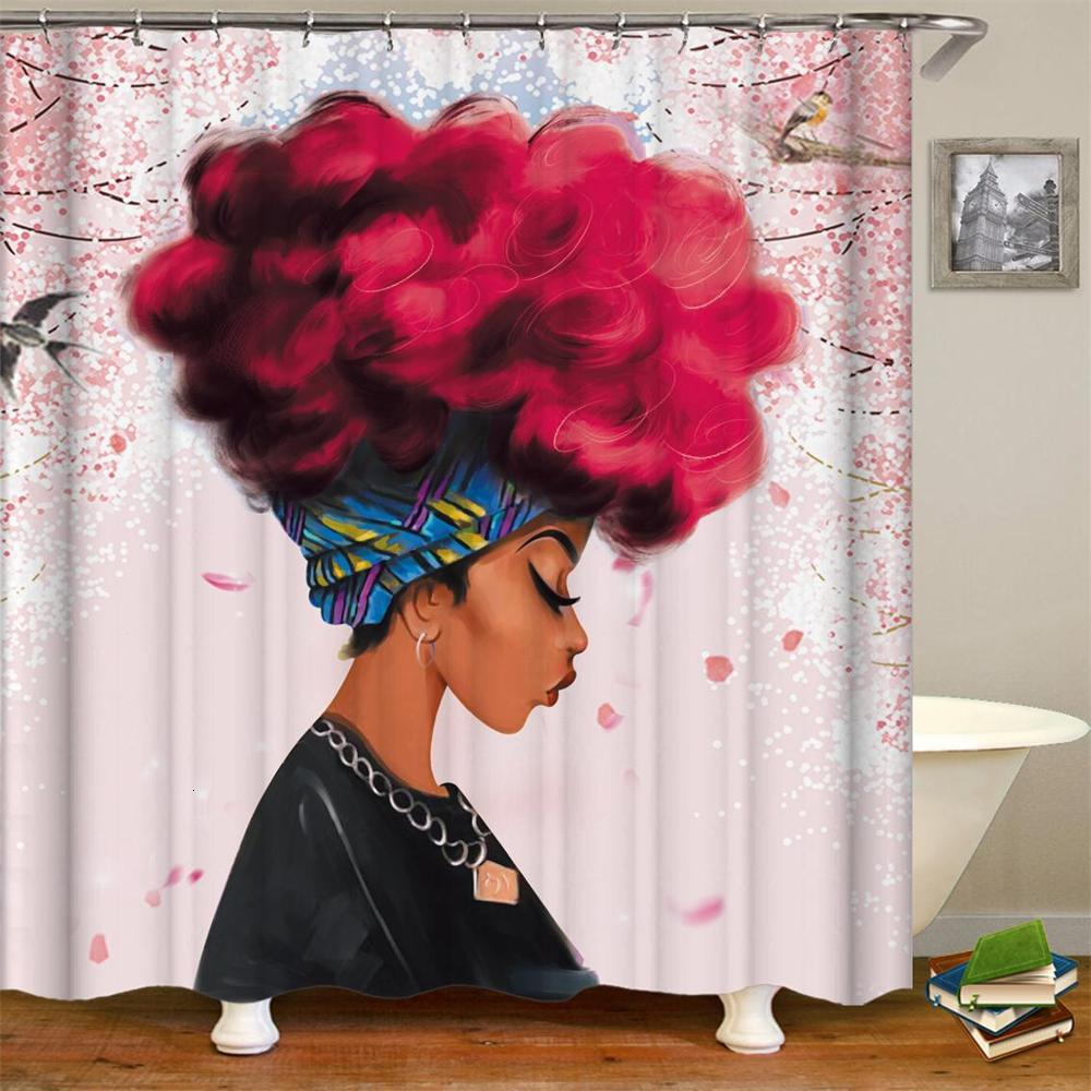 African Women Shower Curtain