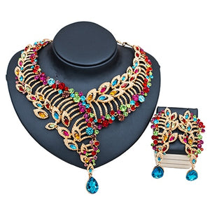 African beads necklace jewelry set