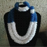 Dark Blue Dubai Jewelry Sets