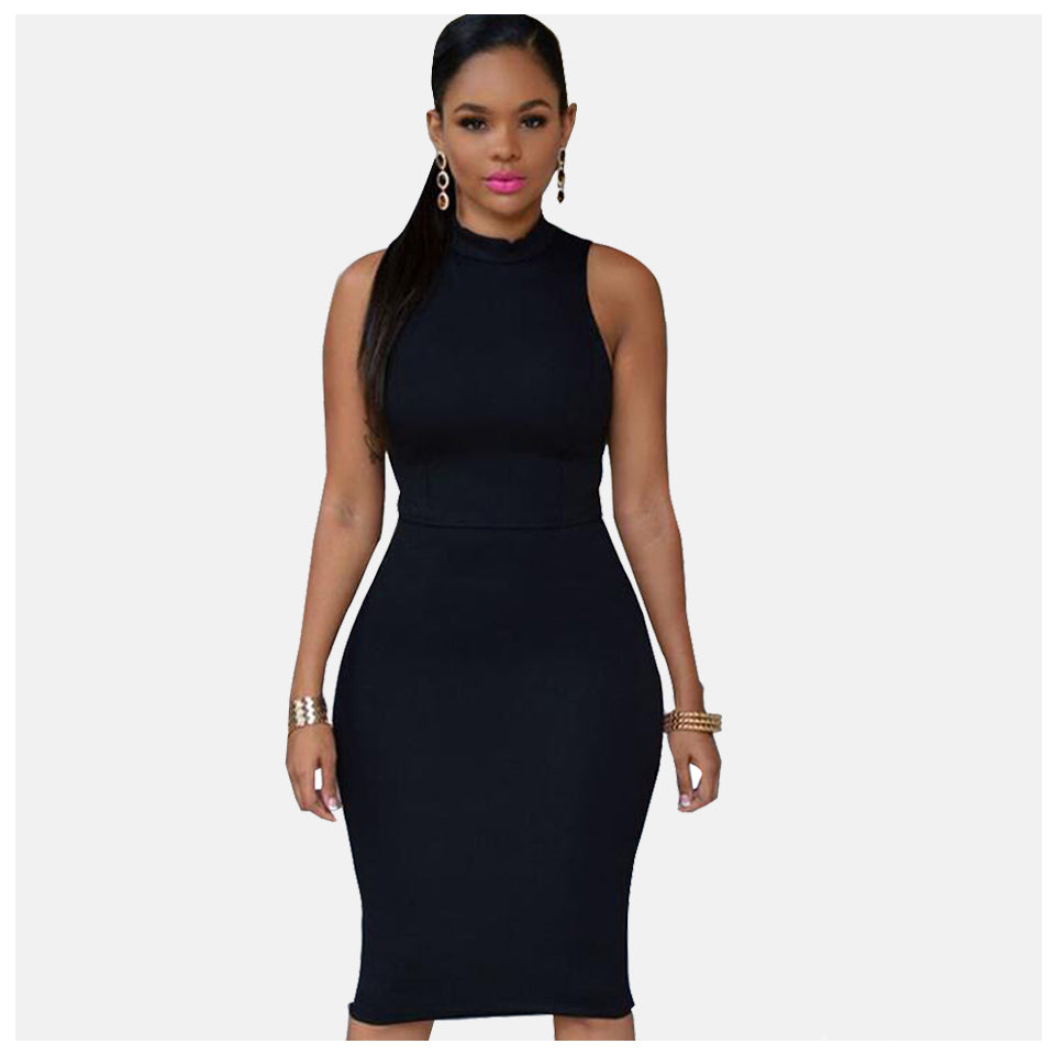 Be bold hips and all in this Sexy Slim Bodycon Spring Knitted Dress
