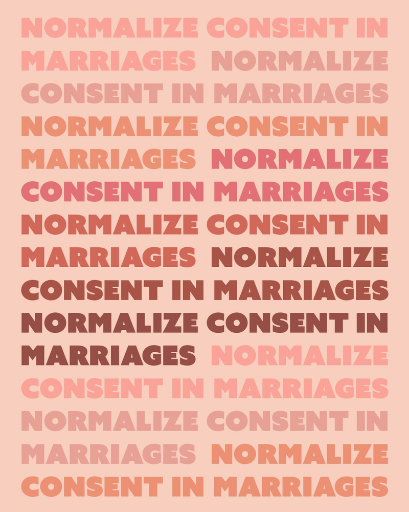 Normalize Consent by Smishdesigns