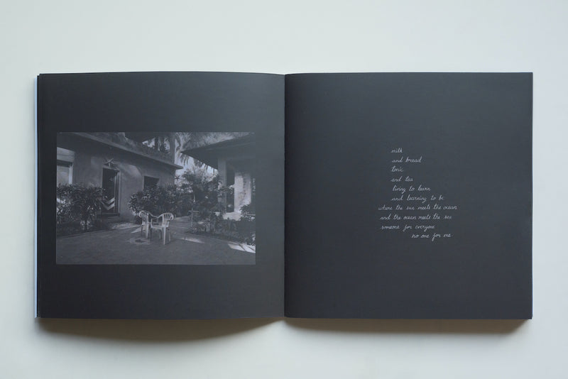 'dear melancholy' photobook by Parizad D