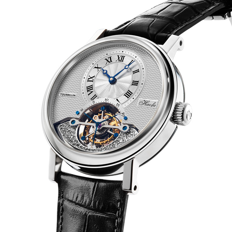 Haofa Tourbillon White Underopen - G1011BE1