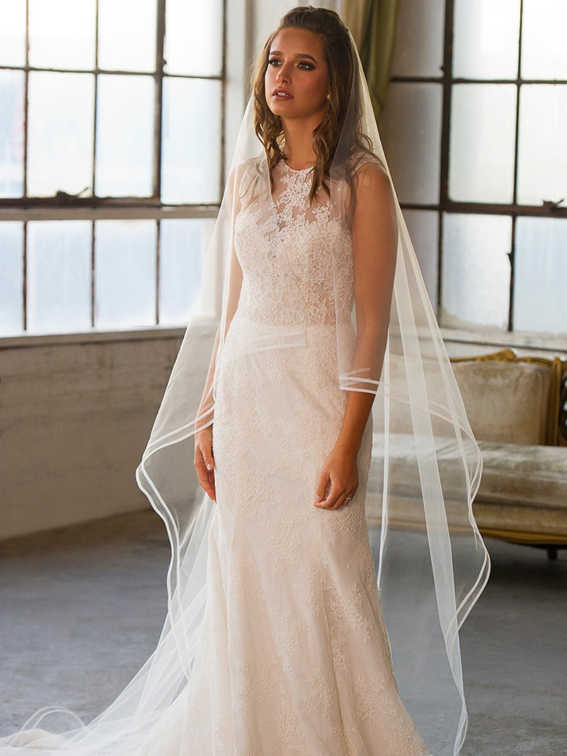 Rent a Wedding Veil-Ariel Veil-Happily Ever Borrowed