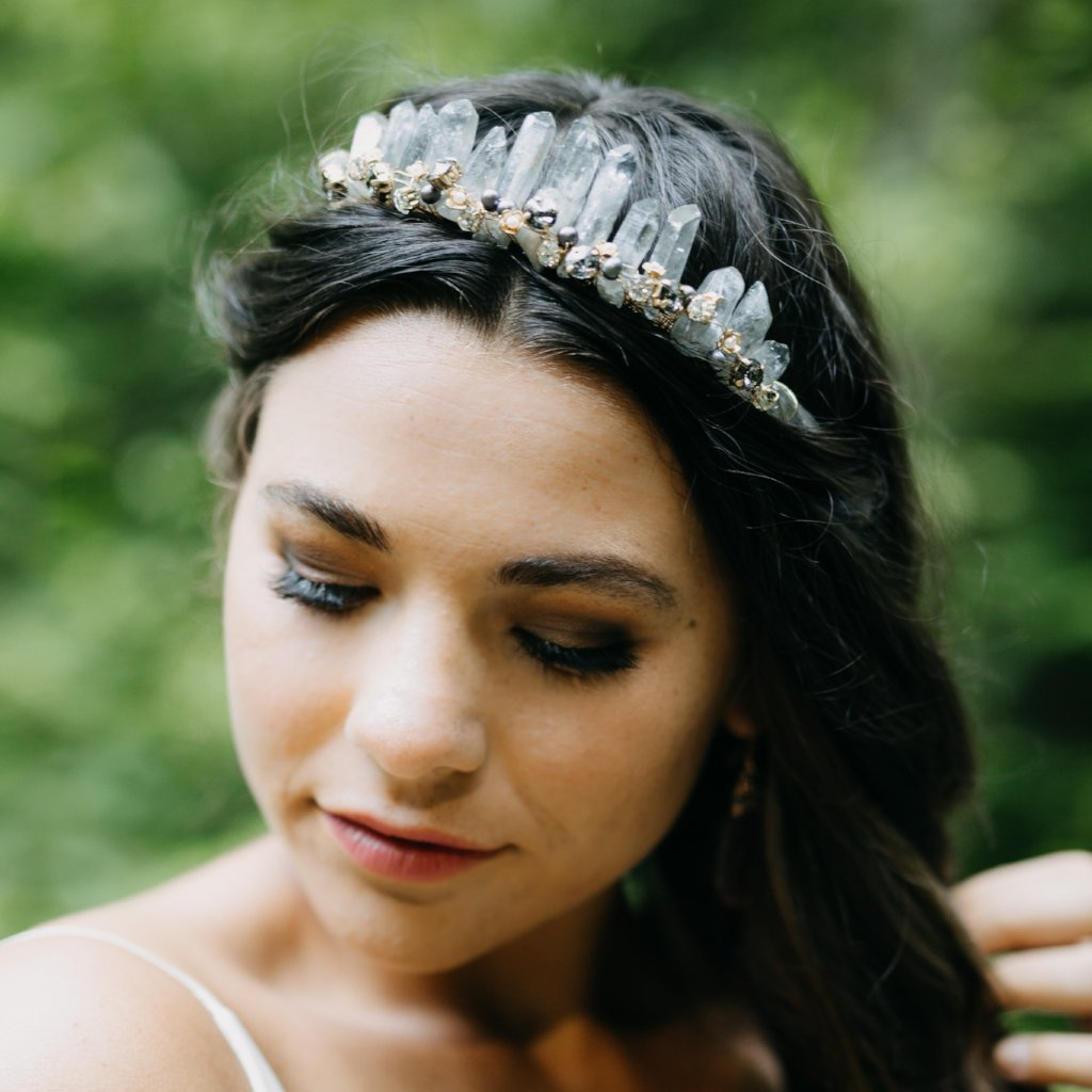 Rent Wedding Headpiece-Andes Tiara-Happily Ever Borrowed