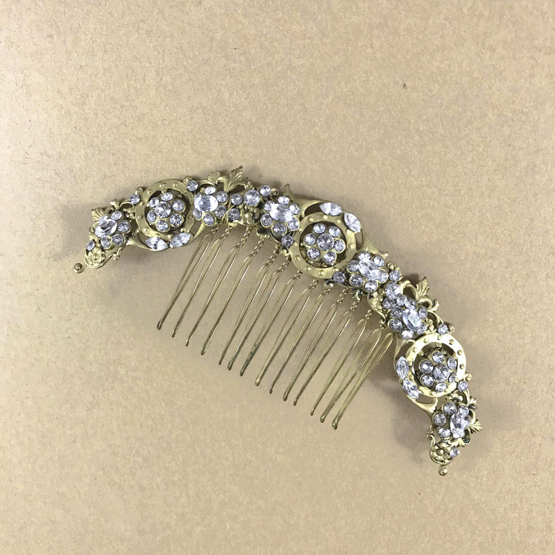 Rent Wedding Headpiece-Ada Comb-Happily Ever Borrowed