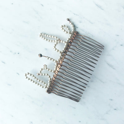 Rent Wedding Headpiece-Bride Comb-Happily Ever Borrowed
