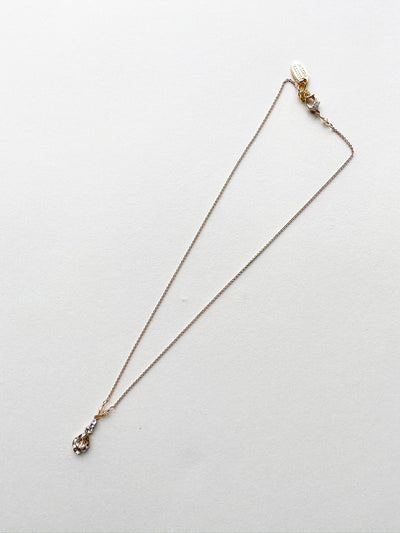 Rent Bridal Jewelry-Champagne Necklace-Happily Ever Borrowed