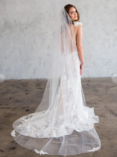 Rent a Wedding Veil-Chanel Veil-Happily Ever Borrowed