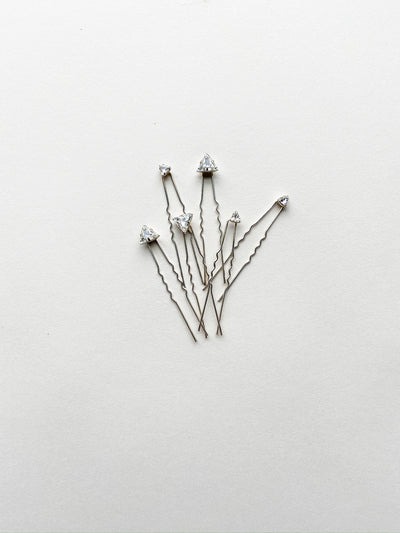 Rent Wedding Headpiece-Comete Hairpins-Happily Ever Borrowed