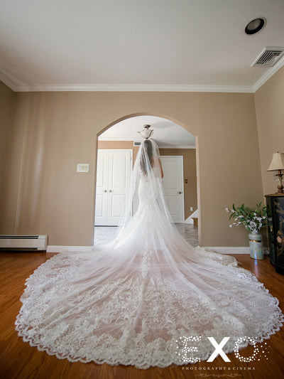 Rent a Wedding Veil-Kristen Veil-Happily Ever Borrowed