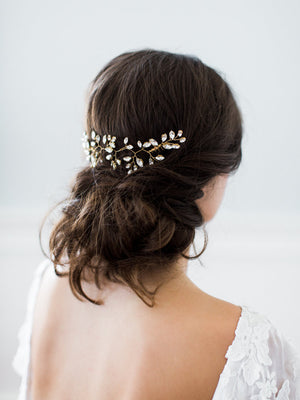 Iris Headpiece-Hairpins & Combs-Emma Katzka-Happily Ever Borrowed