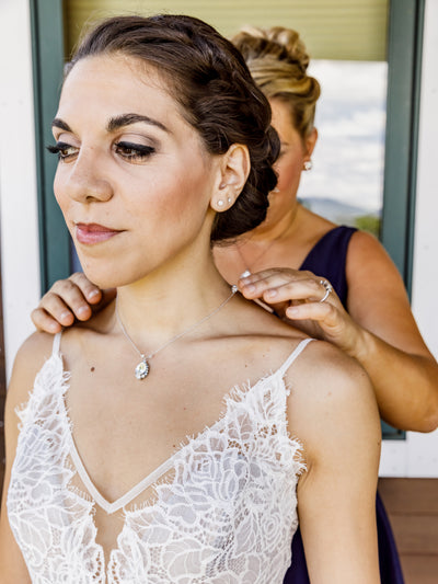 Rent Bridal Jewelry-Brittany Necklace-Happily Ever Borrowed