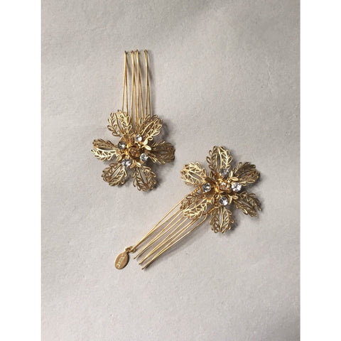 Florence Pins-Hairpins & Combs-enchanted atelier-Gold-4 Day Rental-Happily Ever Borrowed