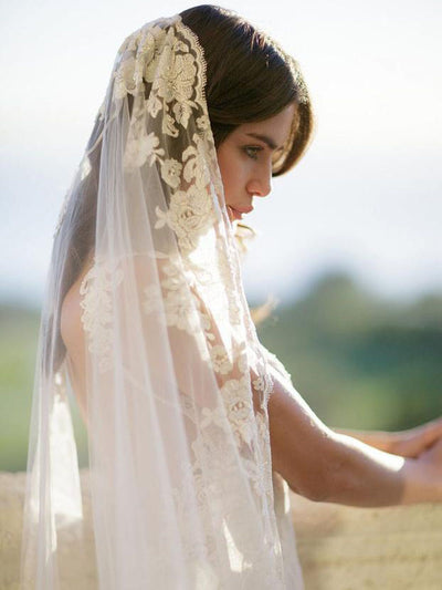 Rent a Wedding Veil-Florentina Veil-Happily Ever Borrowed