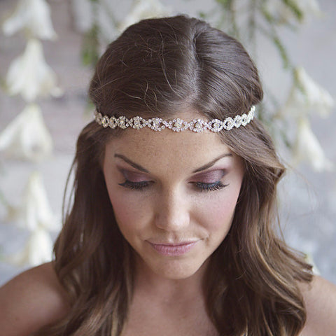 Fatima Headband-headbands-The Yellow Peony-Silver-4 Day Rental-Happily Ever Borrowed