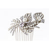 Parisian Headpiece-Hairpins & Combs-Justine M. Couture-Silver-4 Day Rental-Happily Ever Borrowed