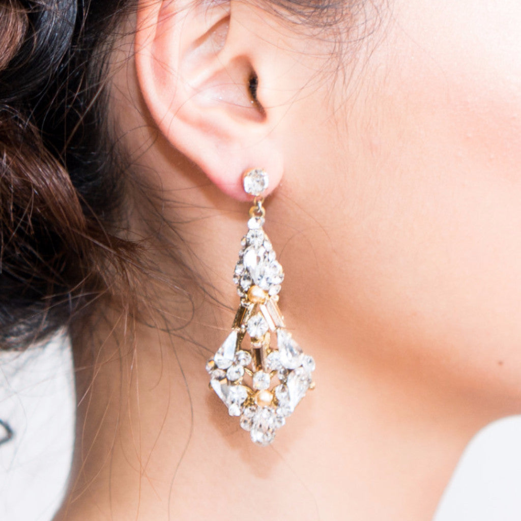 Helena Earrings-earrings-Justine M. Couture-Happily Ever Borrowed