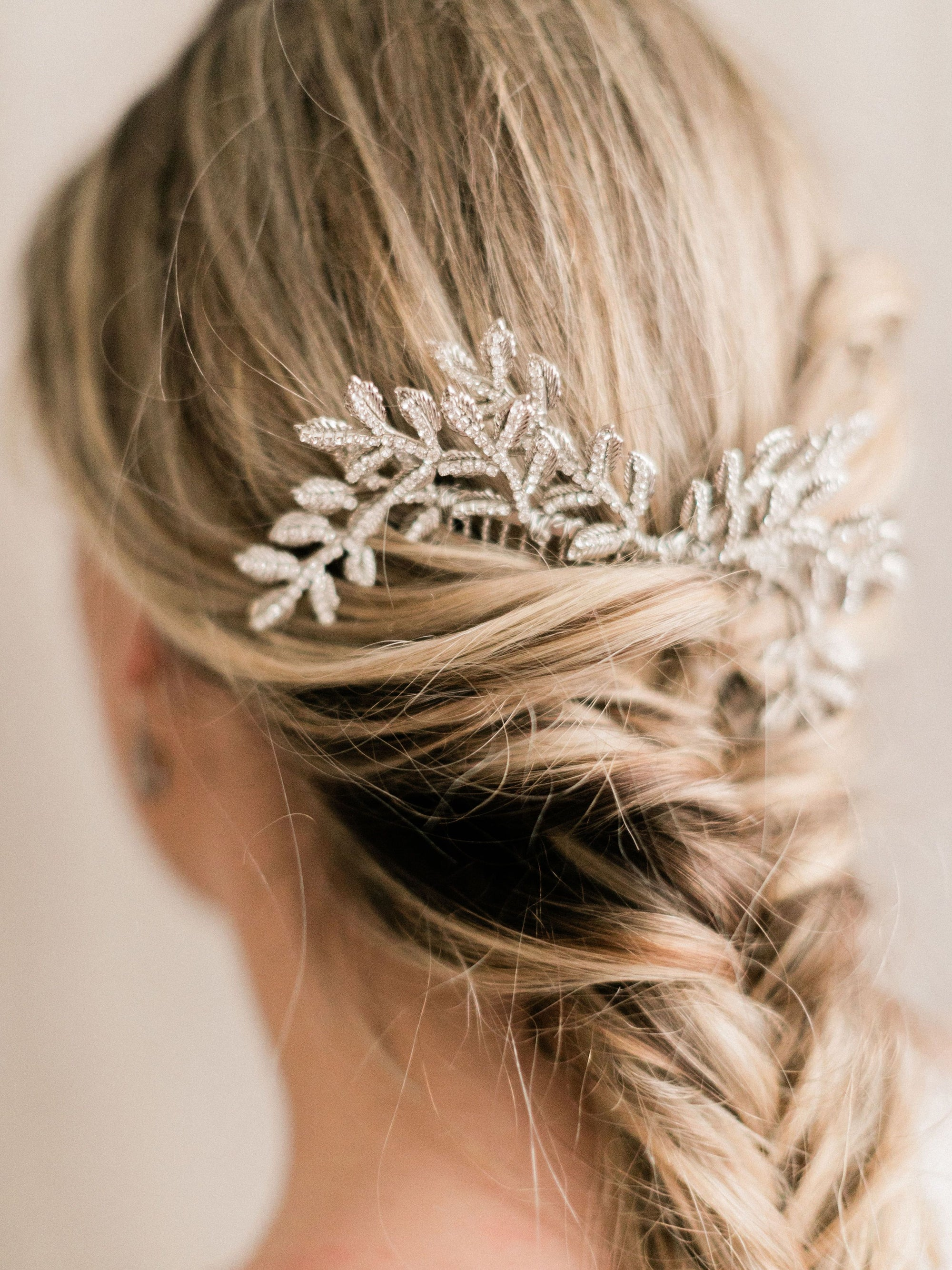 Rent Wedding Headpiece-Rafaella Headpiece-Happily Ever Borrowed