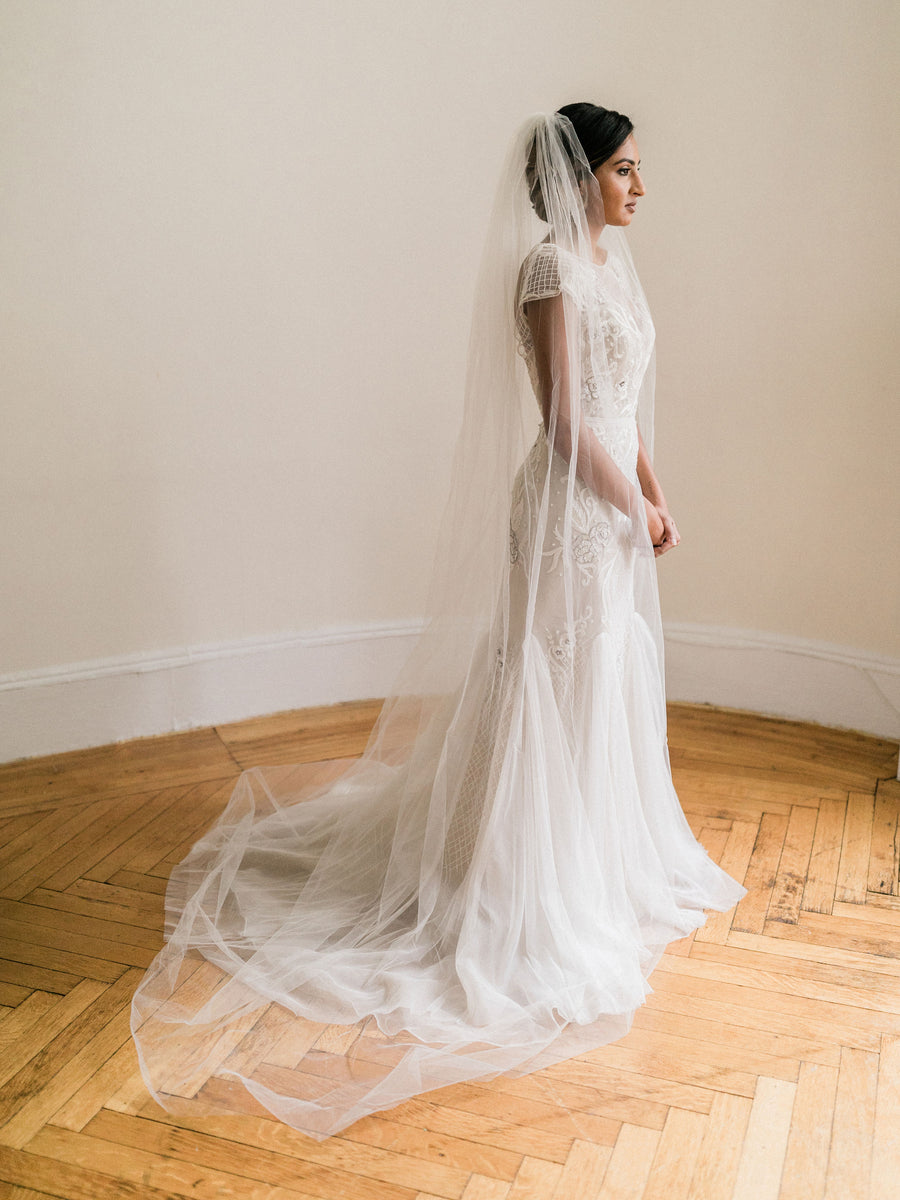 Simple Cathedral Veil