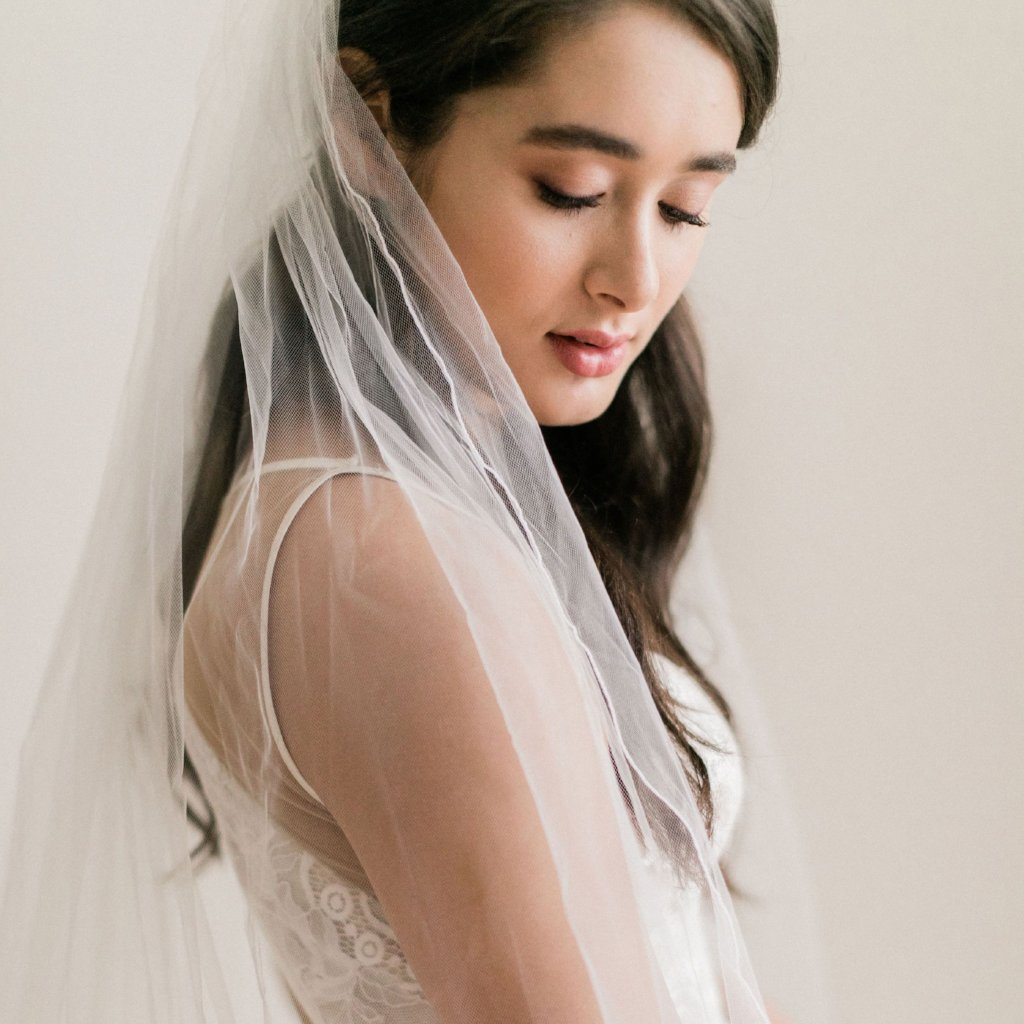 Rent a Wedding Veil-Jessica Veil-Happily Ever Borrowed