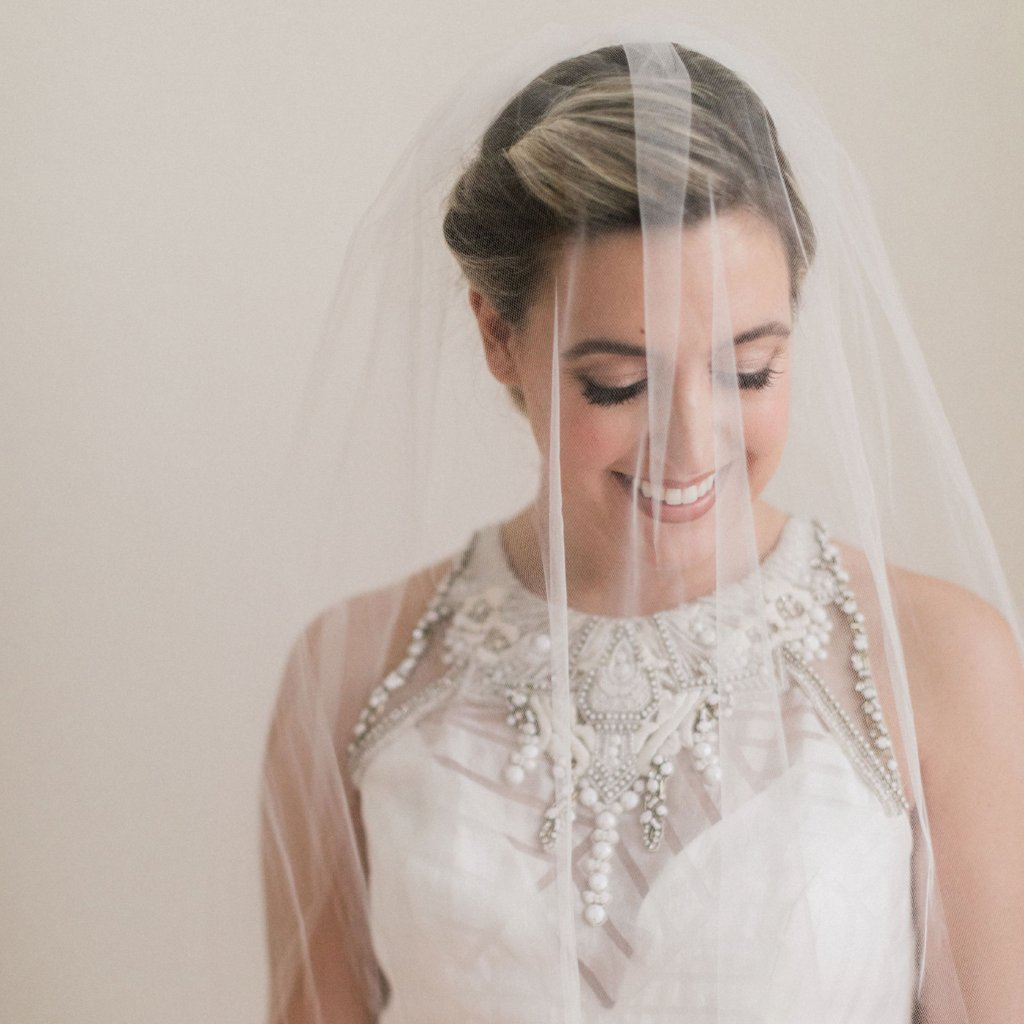 Rent a Wedding Veil-Simple Blusher-Happily Ever Borrowed