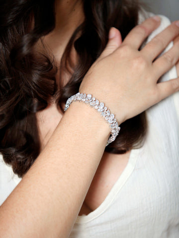 Boucheron II Bracelet-bracelets-Stephanie Browne-Silver-4 Day Rental-Happily Ever Borrowed