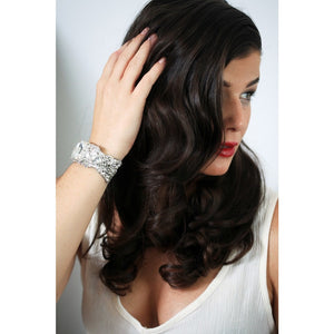 Claudia Cuff-bracelets-Justine M. Couture-Happily Ever Borrowed
