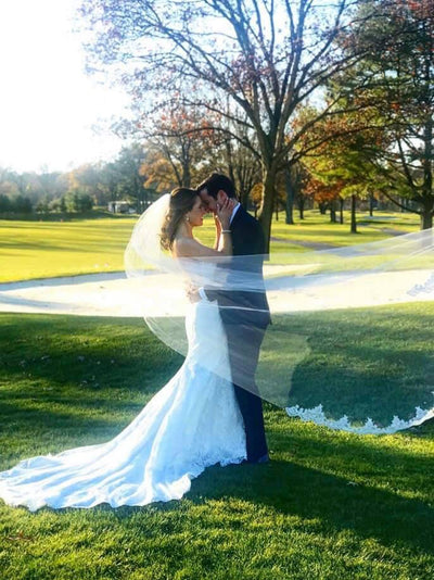 Rent a Wedding Veil-Kiki Veil-Happily Ever Borrowed