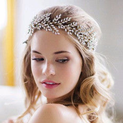 Kira Halo-headbands-Brides & Hairpins-Gold-4 Day Rental-Happily Ever Borrowed